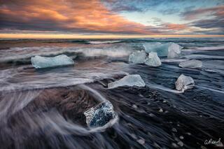 Jökulsárlón, Iceland, Ice, Glacier, Fine Art, Limited Edition, Icebergs, Melt, Exit,