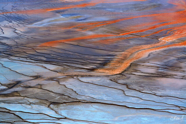 Yellowstone, Abstract, Caldera, Dormant, Volcano, National Park