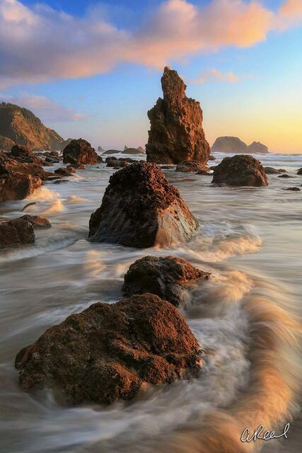 Oceanside, Oregon, Fine Art, Sea Stack, Limited Edition, Tillamook,