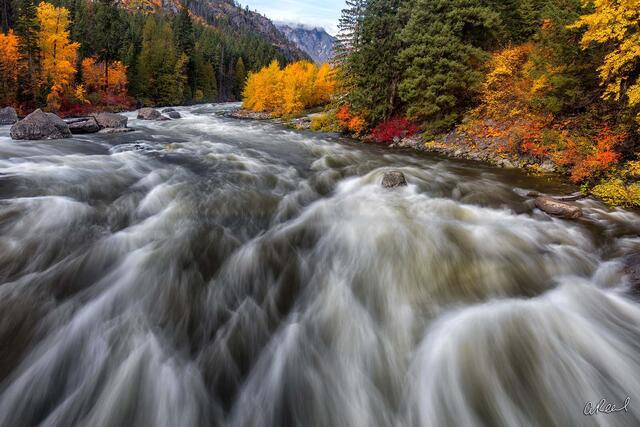 Leavenworth, River, Railway, Orchard, Dam, Fine Art, Limited Edition, Washington,