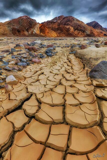 Mudcrack, Crack, Fine Art, Limited Edition, Death Valley National Park, California