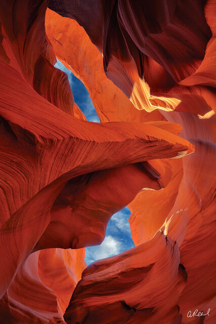 Page, Arizona, Antelope, Canyon, Clouds, Southwest, Aaron Reed, Fine Art, Limited Edition,