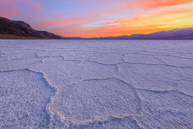 fine art, limited edition, Badwater Basin, Death Valley, California,