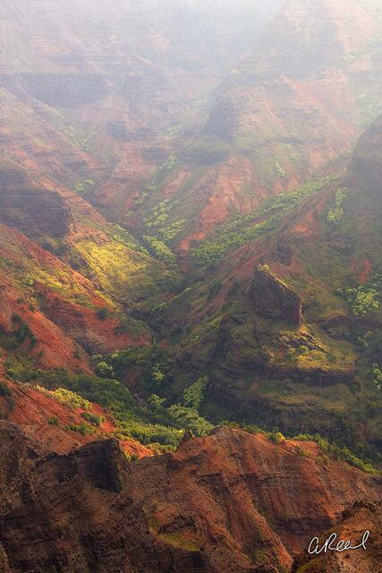Waimea, Kauai, Canyon, Light, Island, Destination, Fine Art, Limited Edition,