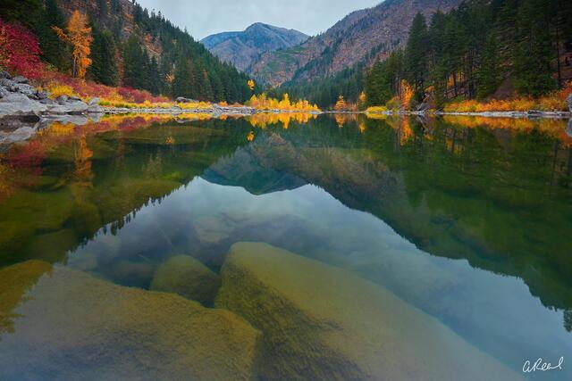 Fine Art, Limited edition, river, Wenatchee, Leavenworth, washington,