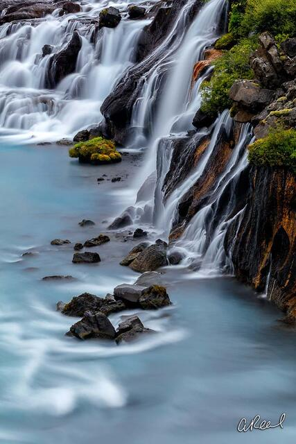 Hraunfossar Blues