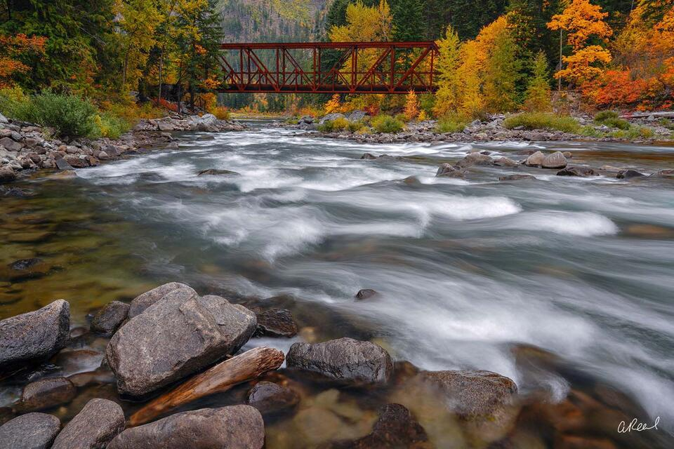 Leavenworth, bridge, Washington, Tumwater