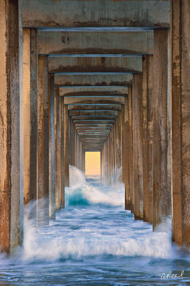 La Jolla, Fine Art, Limited Edition, Scripps Pier, California,