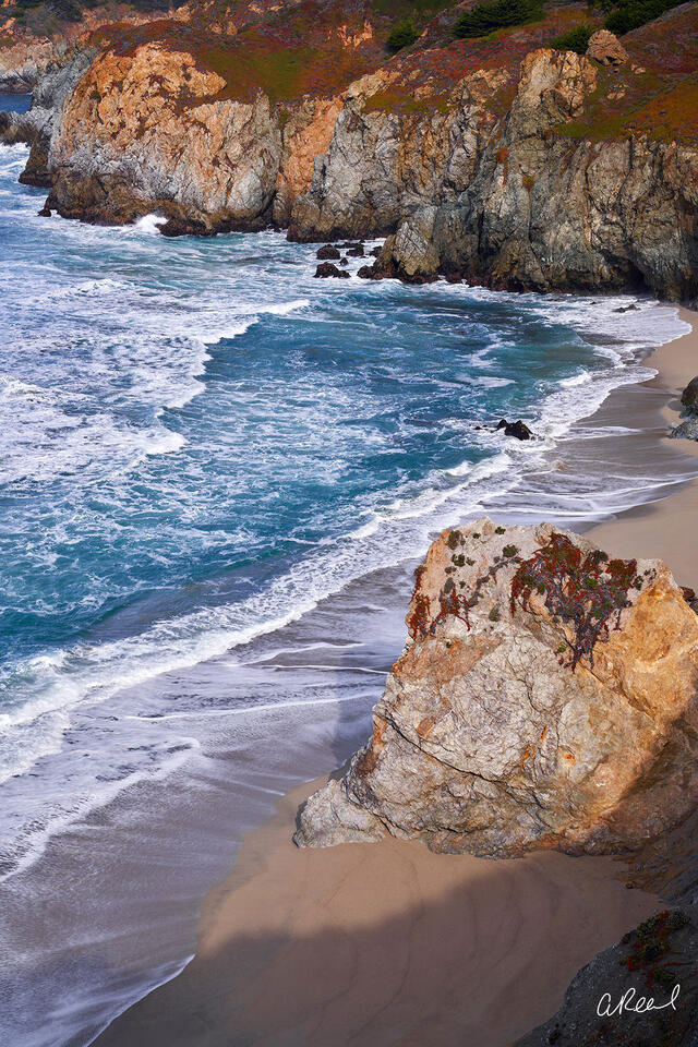 California, Coast, Ocean, Big Sur, Pacific, State,