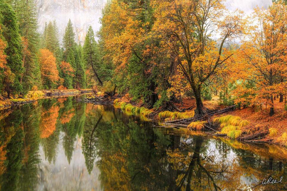California, Merced River, Yosemite, Valley, Fine Art, Limited Edition,