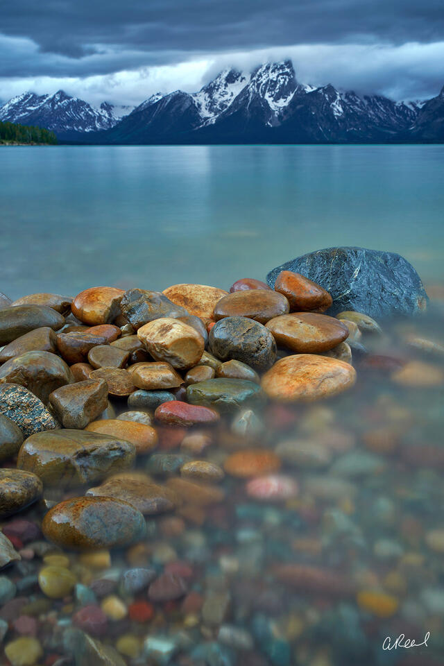 Jackson Lake, Grand Tetons, Wyoming, National Park, Fine Art,