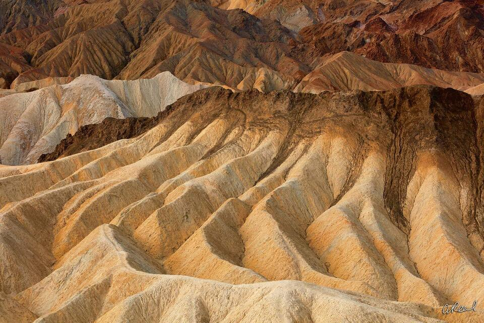 Fine Art, Limited Edition, Death Valley, California, Erosion, Zabriskie, National Park, California, Abstract,