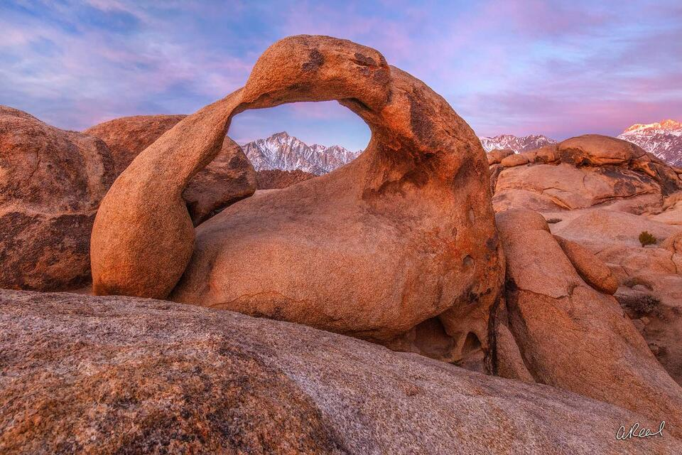 fine art, limited edition, Mobius Arch, Lone Pine, California,