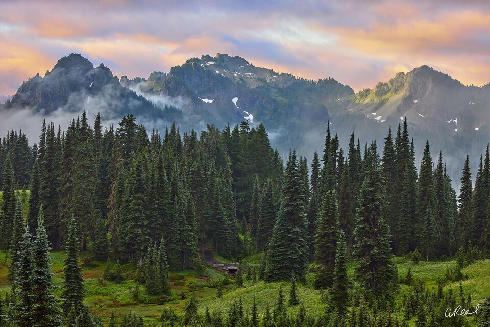 Rainier, Tatoosh, Mountain range, Washington, Mt rainier, National Park,