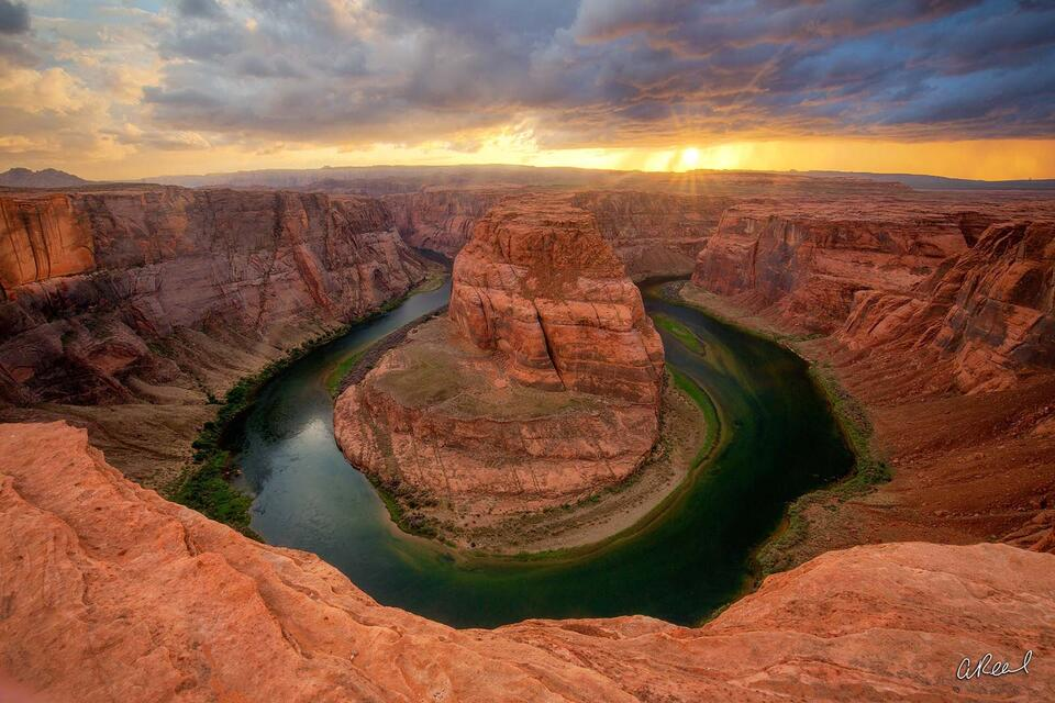 Horseshoe Bend, Arizona, Page, Colorado River,
