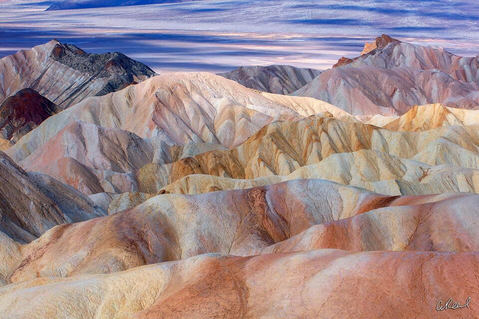 fine art, landscape, limited edition, Zabriskie Point, Death Valley, California, Wonder