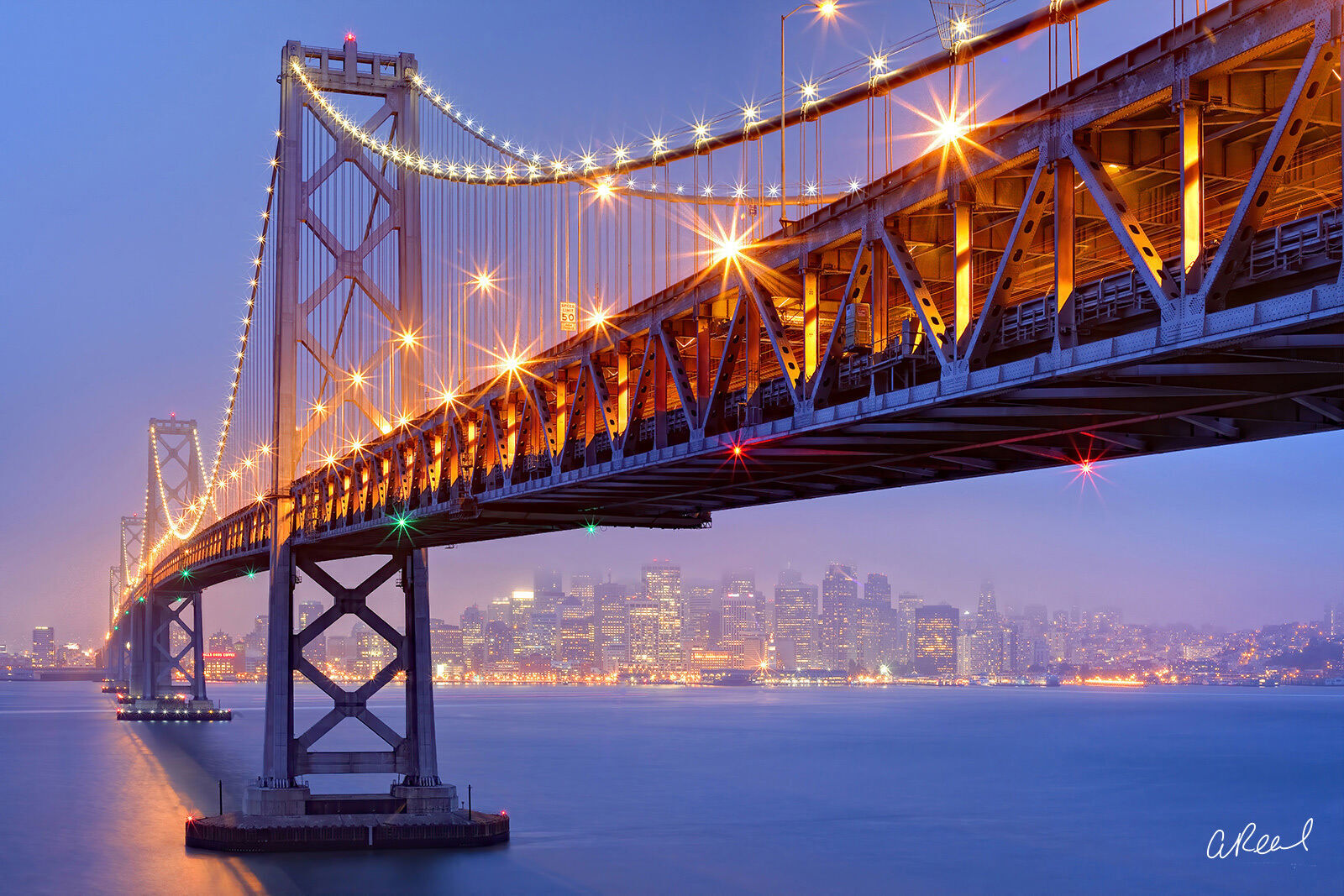 The San Francisco–Oakland Bay Bridge, known locally as the Bay Bridge, is a complex of bridges spanning San Francisco Bay in...