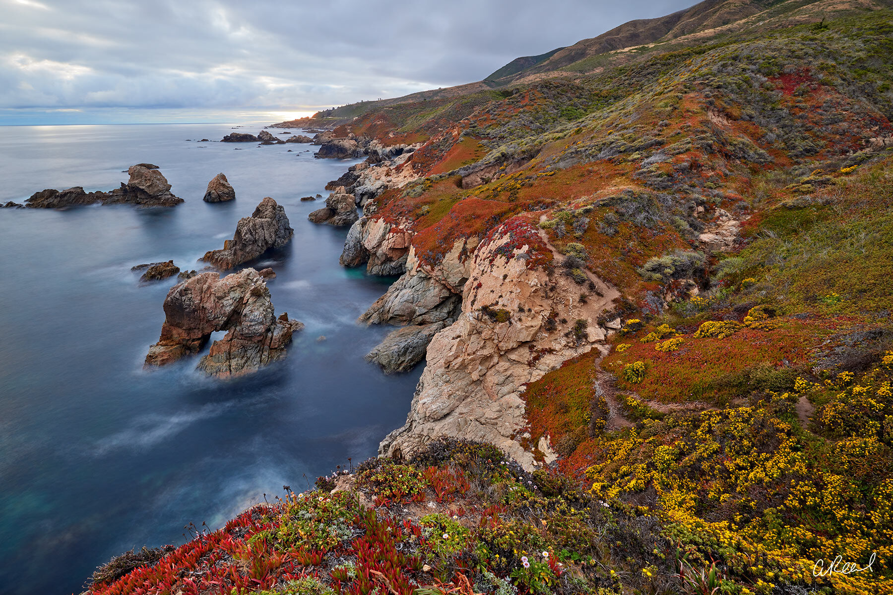 Adorn your walls with Aaron Reed's limited edition photography print, California Color, from his Oceans & Rivers Luxury Art collection...