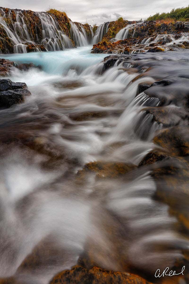 Brúarfoss, Iceland, River, Waterfall, Fine Art, Limited Edition, , photo