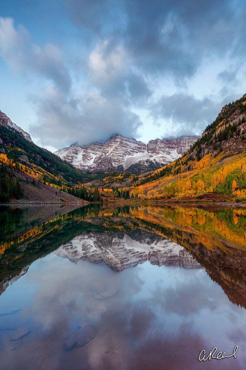 Aspen, Colorado, Maroon Bells, Snowmass, Fine Art, Limited Edition, Autumn, Reflection, photo