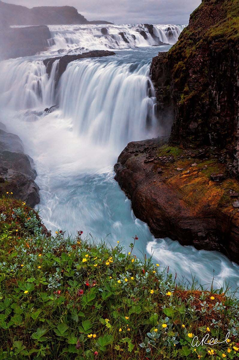 Gullfoss, Iceland, Waterfall, Fine Art, Limited Edition, , photo
