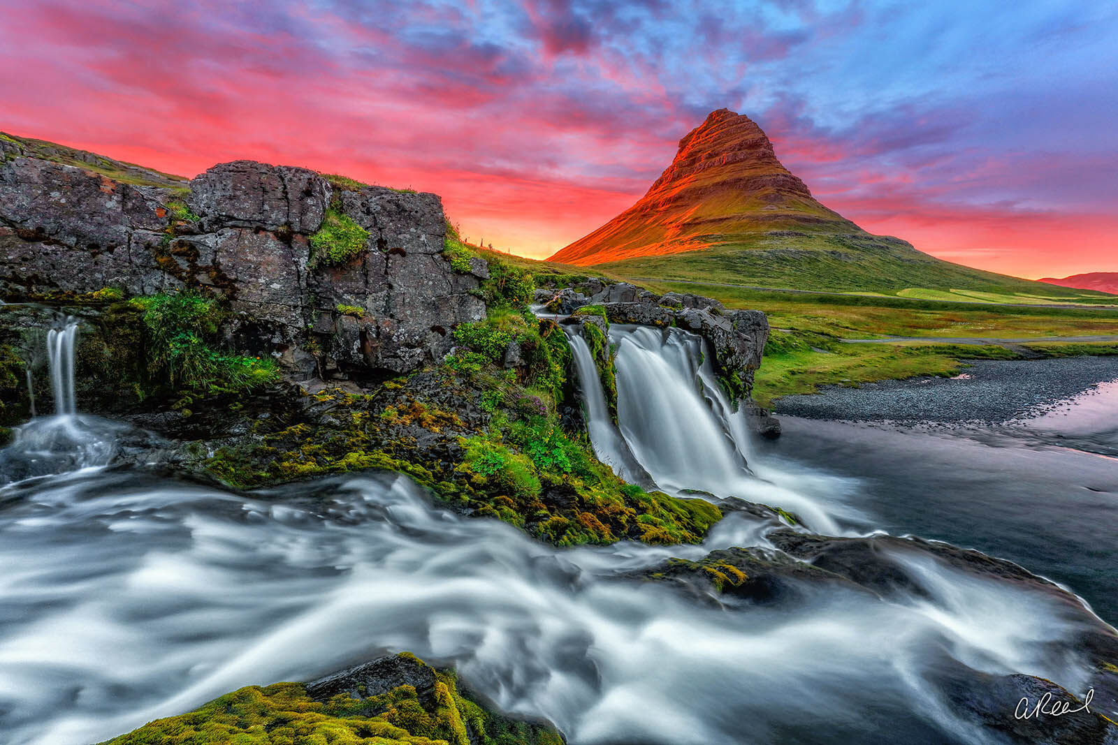 Kirkjufell, Fine Art, Waterfall, Mountain, Iceland, Limited Edition, Church, Arrowhead, Game Of Thrones,, photo