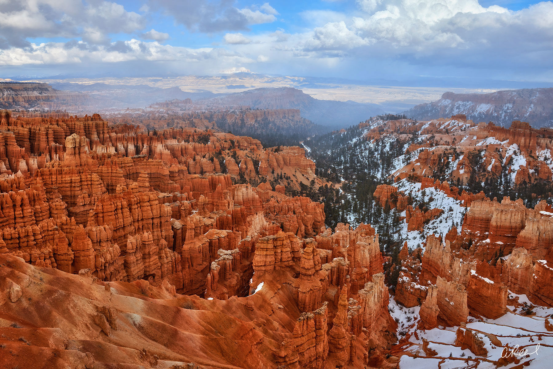 Bryce Canyon, Utah, National Park, Rim, Limited Edition, Fine Art, photo