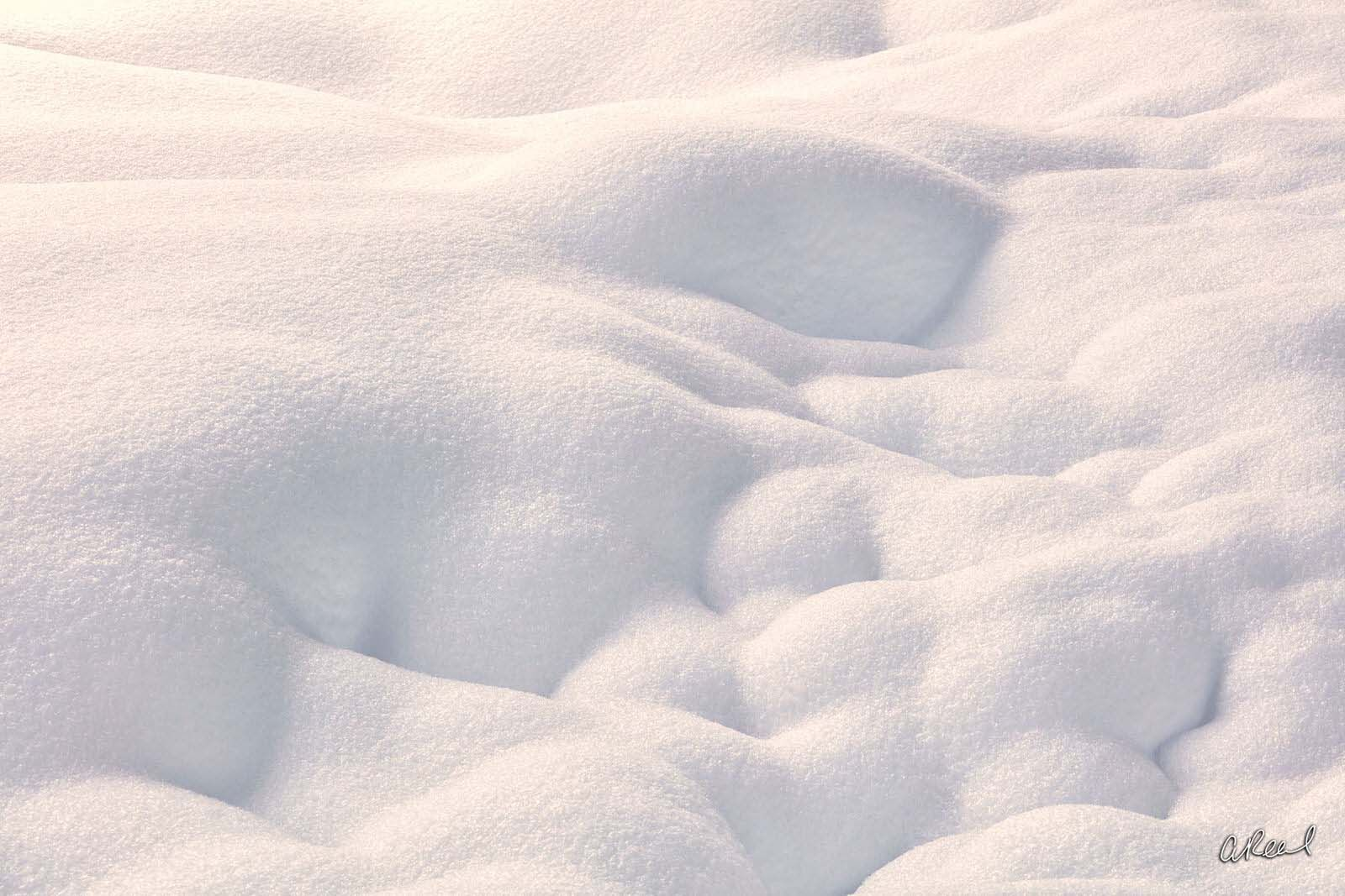 Snowpack, Fine Art, Limited Edition, Snow, Snowqualmie, Washington, Abstract, photo