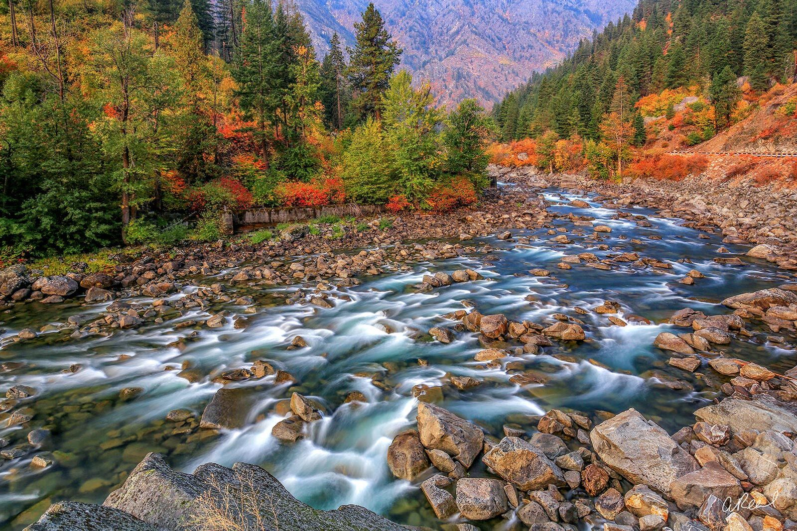 Rollin On A River | Oceans & Rivers Photography | Aaron Reed