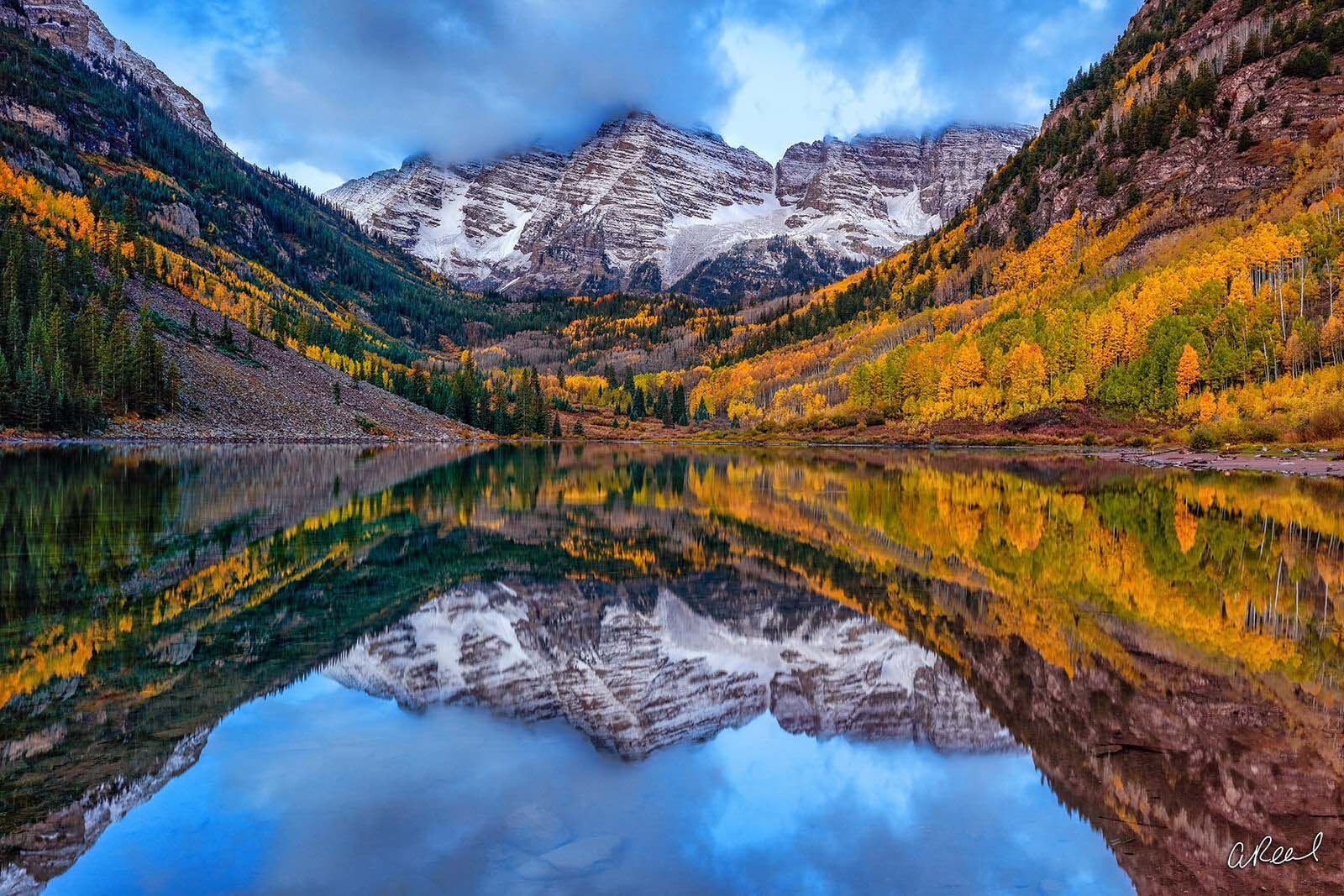 Aspen, Colorado, Maroon Bells, Mountains, Autumn, Fall, Fine Art, Limited Edition, , photo