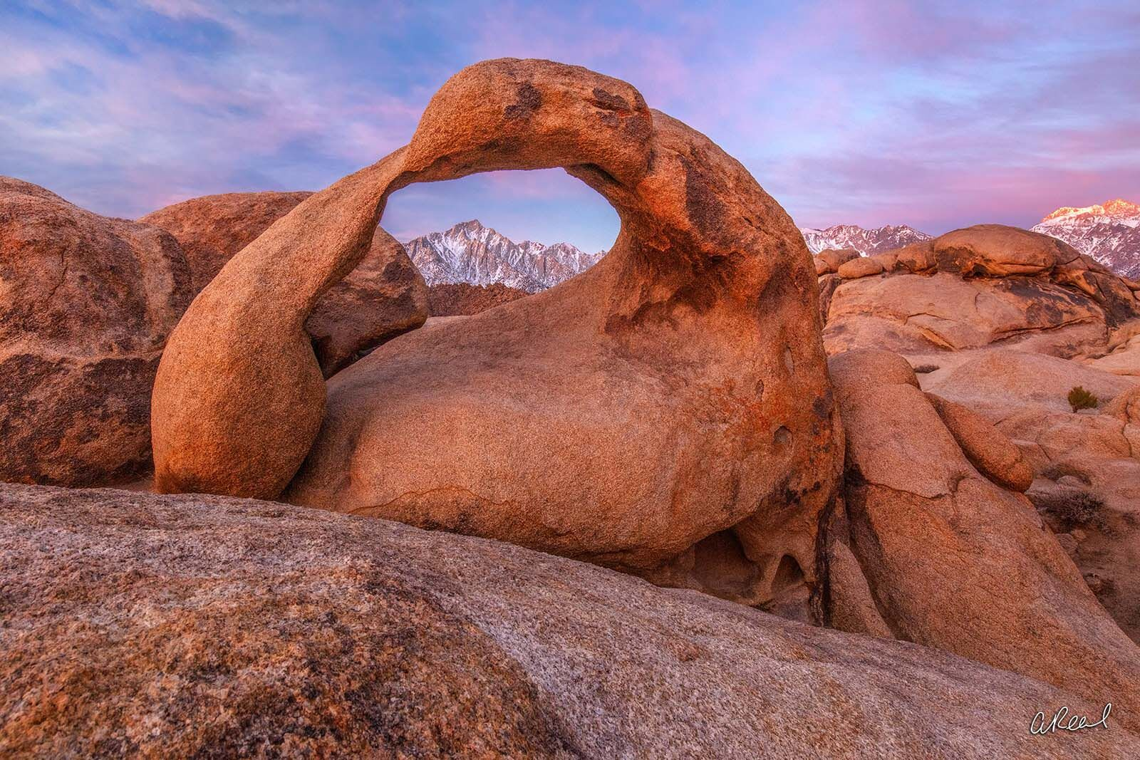 fine art, limited edition, Mobius Arch, Lone Pine, California, , photo