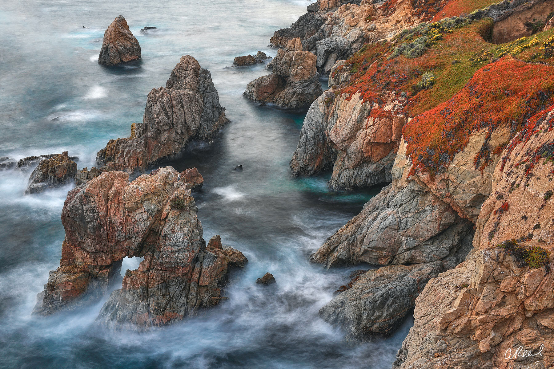 Adorn your walls with Aaron Reed's limited edition photography print, Stone Castles, from his Oceans & Rivers Luxury Art collection...