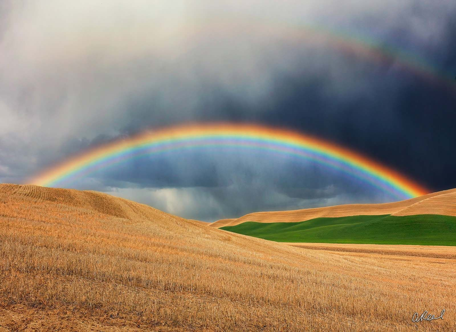 Washington, Rainbow, Palouse, photo