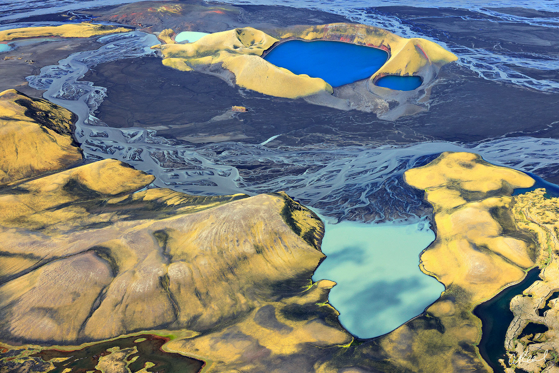 Transform your space with Aaron Reed's limited edition photography print, The Pools, from his Iceland Nature Photography collection...