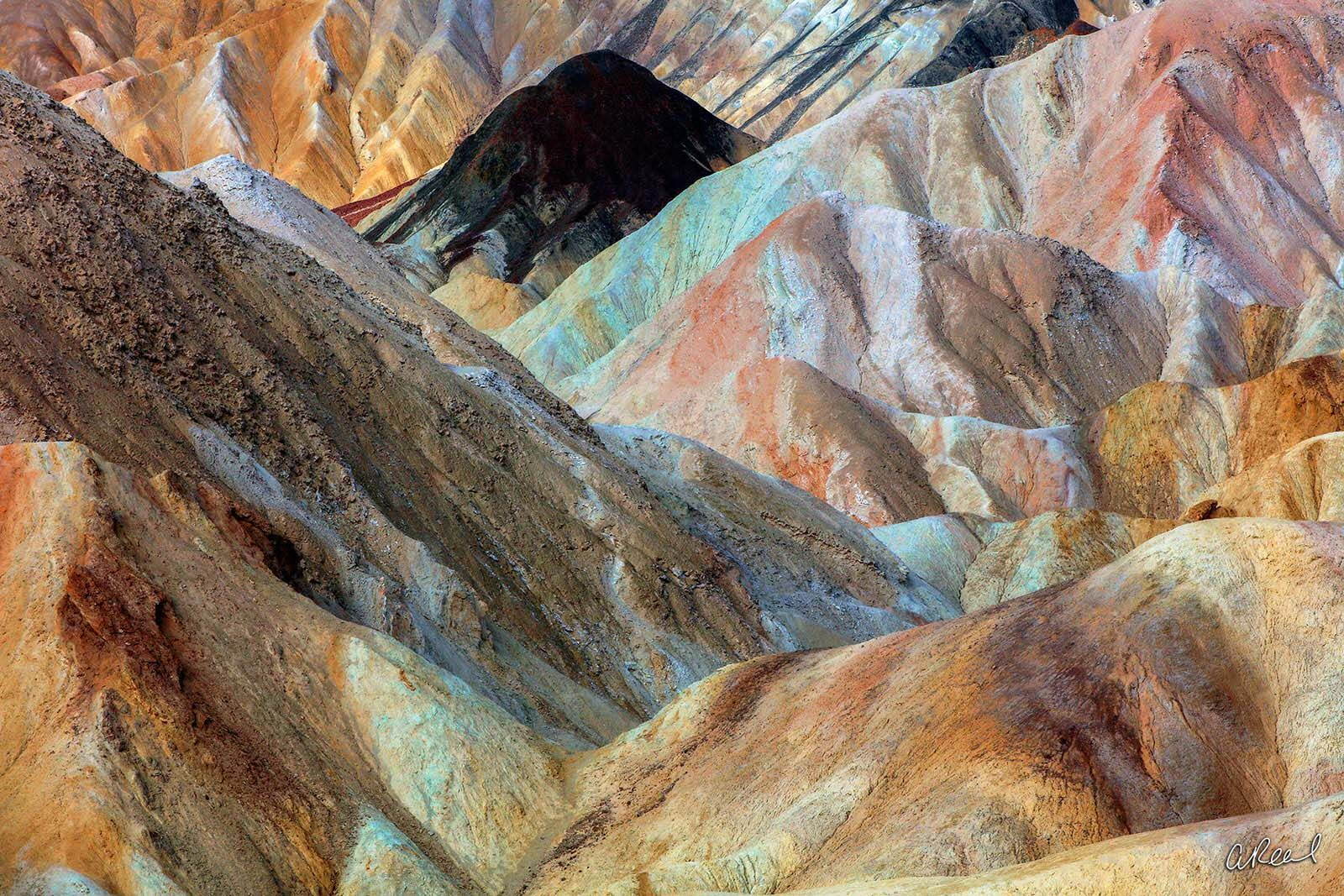 Death Valley, Fine Art, Limited Edition, Abstract, Zabriskie, California, Erosion, Sediment, Earth, National Park, , photo