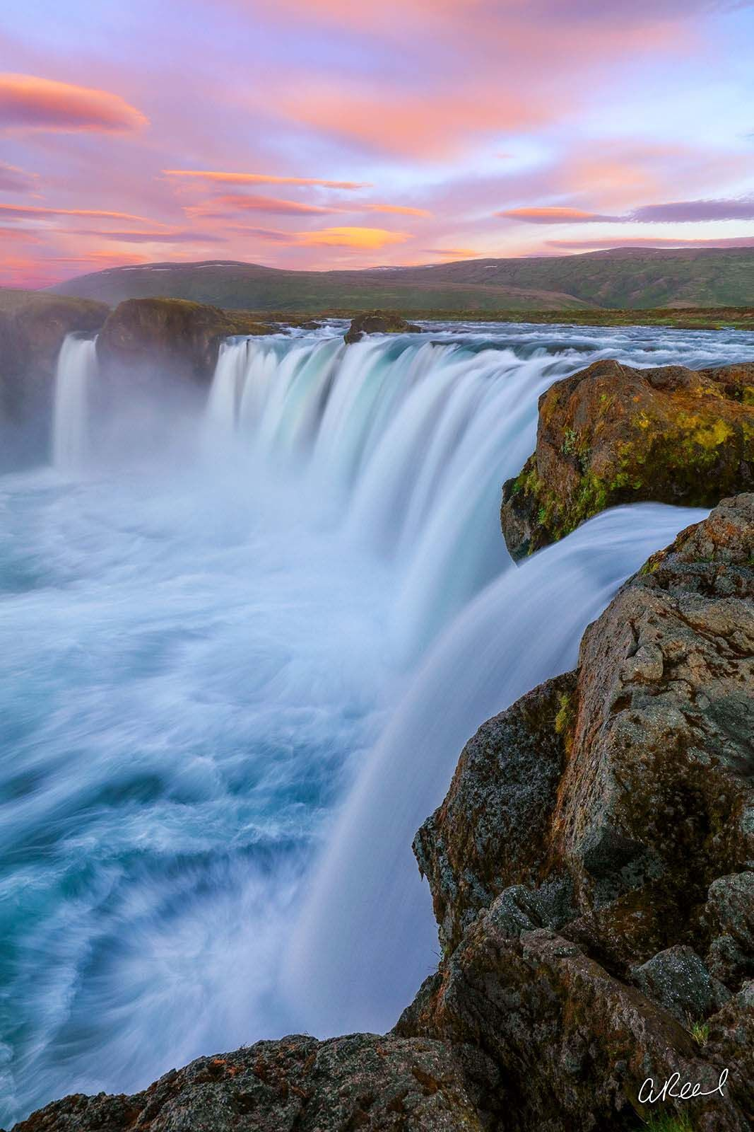 Godafoss, Limited Edition, Fine Art, Waterfall, photo