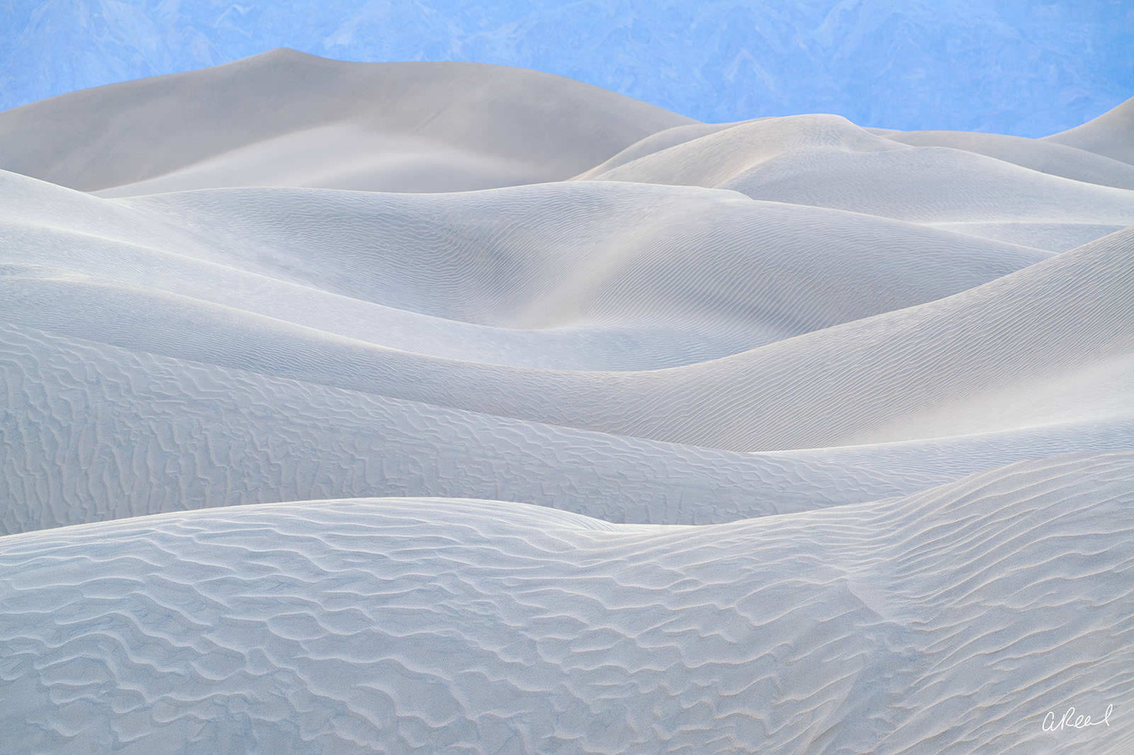 White Satin | Abstract Photography | Aaron Reed