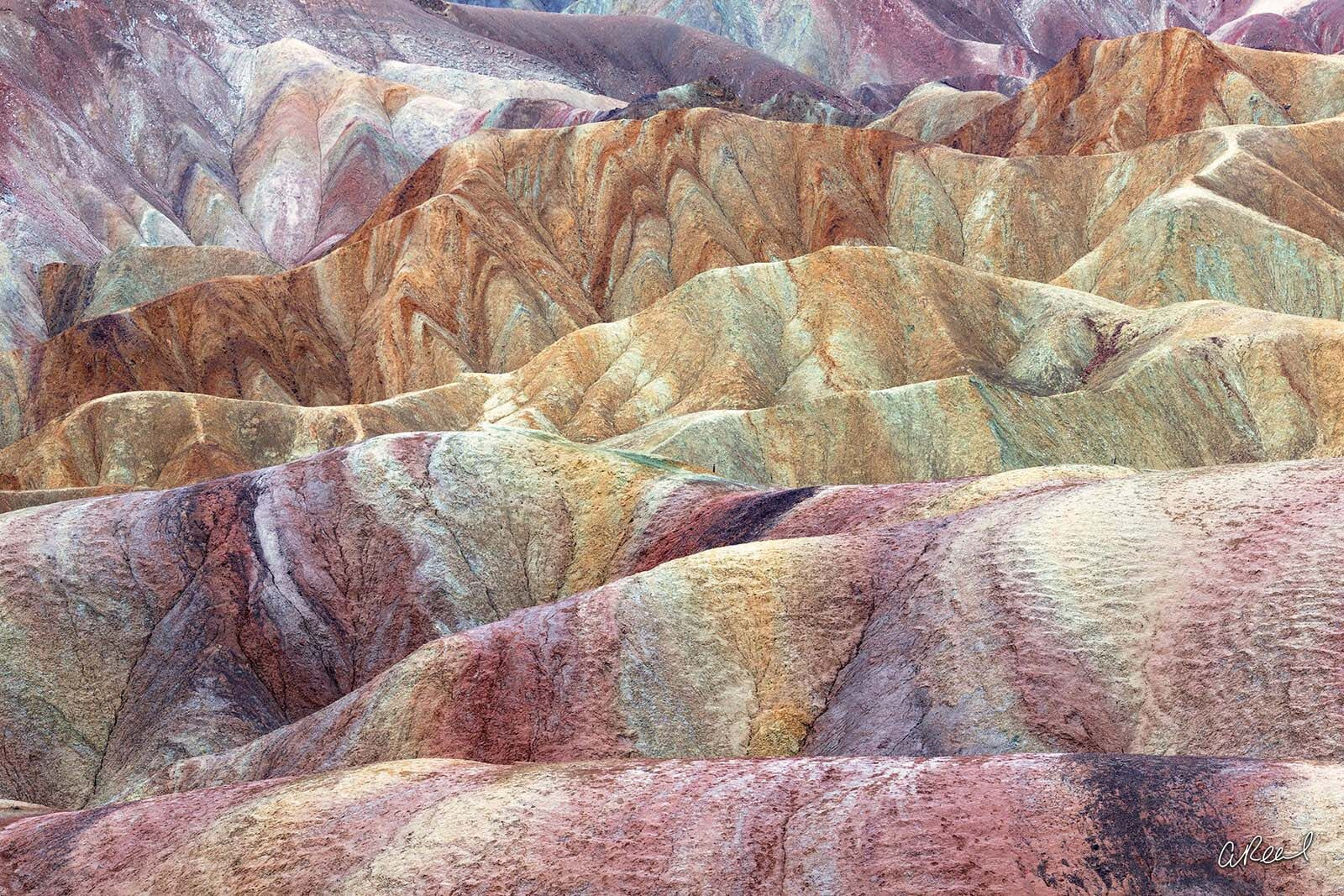 Fine Art, Limited Edition, Aaron Reed Photography, Zabriskie Point, Death Valley National Park, Furnace Creek, California, , photo