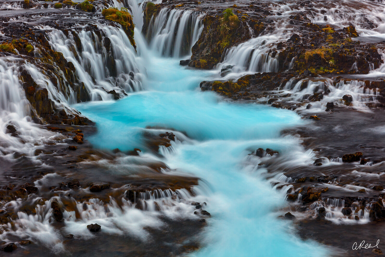 Transform your space with Aaron Reed's limited edition photography print, Aquamarine, from his Iceland Nature Photography collection...