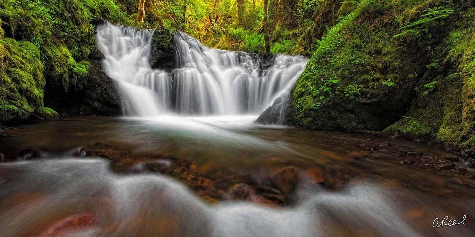 Transform your space with Aaron Reed's luxury fine art photography print, The Wishing Well, from his Panoramic Wall Art collection...