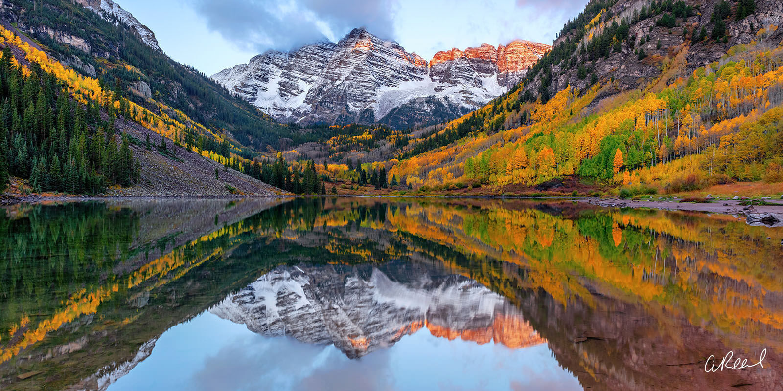 Transform your space with Aaron Reed's luxury fine art photography print, Glorious, from his Panoramic Wall Art collection. Order...